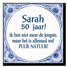 Delfts Blauwe Tegel Sarah