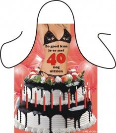 Keukenschort Leeftijd Woman 40