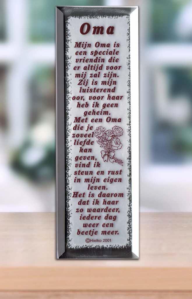 Gedicht Spiegel Oma