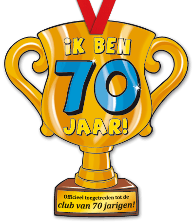 Mega Trofee 70 Jaar