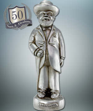Verbazingwekkend Abraham cadeau nodig voor een 50 jarige?   Maryskadoshop.nl FC-41