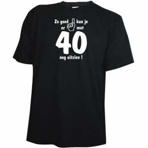 Vaak Verjaardagscadeau 40 jaar fun feest en kado ideeen @BO15