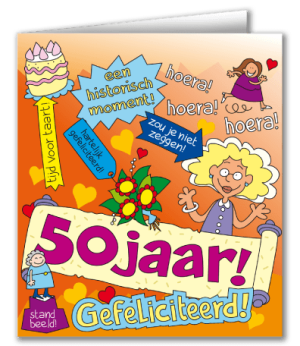 verjaardag 50 jaar sarah